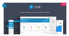 12 Best Material Design Admin Templates