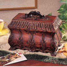 Found it at Wayfair - Tea Caddy Box