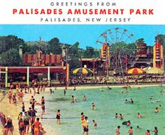 Went here many times and rode the roller coaster as many times as it took to get into the front seat. I didn't have to get in line again, just jumped out of the seat and ran towards the front car. Palisades Amusement Park, Palisades Park, Cliffside Park, Seaside Heights, Tunnel Of Love, Beach Music, Amusement Park Rides, Roadside Attractions, New Brunswick