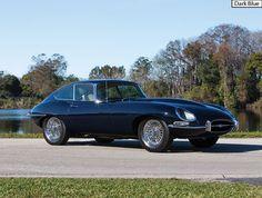 E-Type Jaguar Series 1 Dark Blue