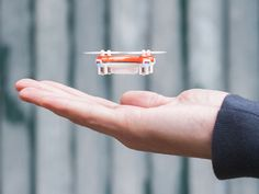 Quadrotor copters are all the rage these days, and the SKEYE Nano Drone stands out. Read more Deal Of The Day: Off On SKEYE Nano Drone Small Drones, Cool Tech, 3d Printing, Fancy, Cool Stuff, Mini, World's Smallest, Control System, Palm