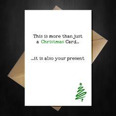 """Funny Star Wars Christmas Card - Cute Yoda says """"A Merry Christmas You – That Card Shop Star Wars Christmas, Christmas Card Crafts, Christmas Gifts For Friends, Christmas Cards To Make, Merry Christmas, Funny Christmas Messages, Best Christmas Quotes, Christmas Humor, Christmas Stuff"""
