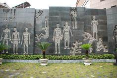 Hoa Lo Prison (Hanoi Hilton) Memorial Garden, Hanoi, Vietnam