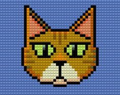 Lego Cat by drsparc on deviantART