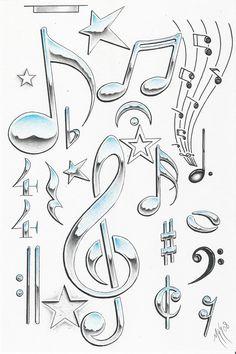 music symbols - vma.