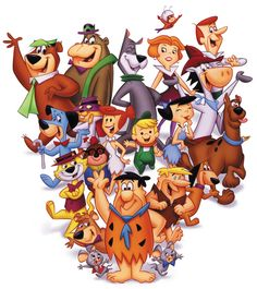 Hanna Barbera-The glory days of Saturday morning cartoons.