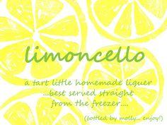limoncello+label