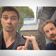 mattcohen4real's photo on Instagram - Matt Cohen and Richard Speight Jr. - Supernatural Cast