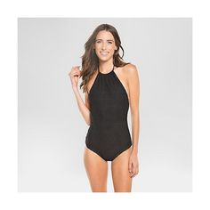 4551526818e97 Designer Clothes, Shoes & Bags for Women | SSENSE. Women's Crochet High  Neck One Piece Swimsuit ...