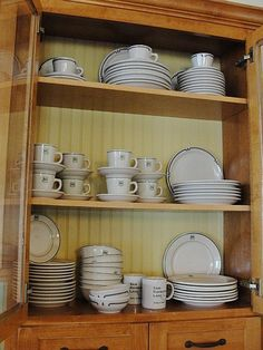 US Forest Service dishes from Woodlands Catelogue.  Replicas of the original dishes used by employees