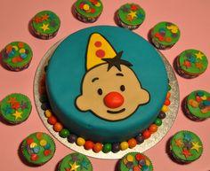 Bumba taart en cupcakes