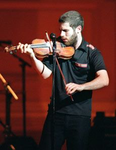 Ashley MacIsaac - Cape Breton Fiddler saw him at LuLu's bar in Kitchener, Ontario in 1997