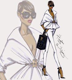 #Fashion #Illustrations: 'New Attitude' by Hayden Williams