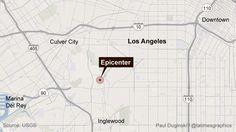 3.5 Earthquake rattles Los Angeles