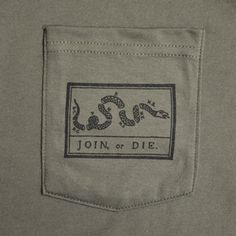 i'm breaking one of the 10 commandments here, coveting my neighbor's Pocket Tee.