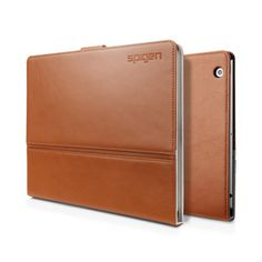 SPIGEN SGP The New iPad Leather Case Valentinus - Brown
