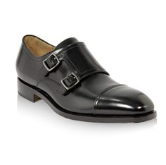 Because sometimes you want something with a bit more, well... personality than laces. Cap toe double monk strap shoes ($995) by Salvatore Ferragamo, ferragamo.com   - Esquire.com