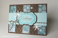 Celebrate card using CTMH #CTMH