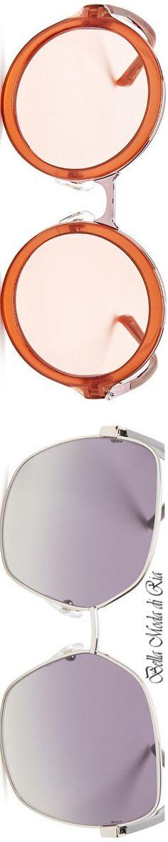 Phillip Lim Round Sunglasses Rose/Rose & Rose/Gold