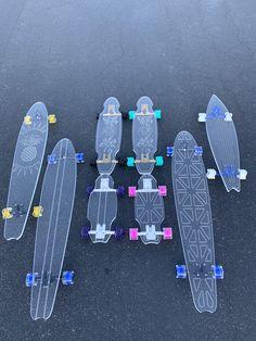 Skateboard Deck Art, Penny Skateboard, Skateboard Design, Longboard Design, Skate Girl, Cool Skateboards, Skate Style, Applis Photo, Longboarding