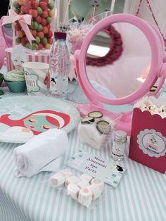 Spa Birthday Party Ideas | Photo 2 of 34   Mirrors!