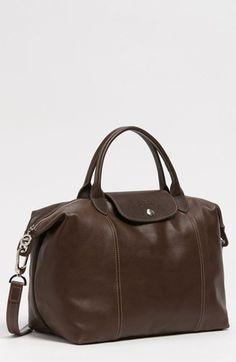 Longchamp 'Le Pliage Cuir' Leather Handbag   Nordstrom