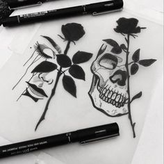 Skull Cut Tattoos # skull # tattoos Best Picture For tattoo tiny For Your Ta Kunst Tattoos, Tattoos Skull, Rose Tattoos, Body Art Tattoos, Hand Tattoos, Sleeve Tattoos, Key Tattoos, Butterfly Tattoos, Flower Tattoos