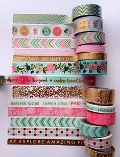 Do you use washi in your planner??