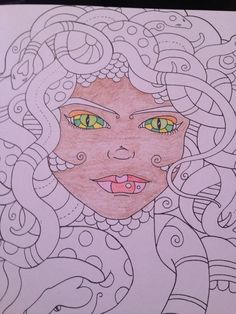 Loving the new #colourmemindful series! Enchanted creatures is my fav  @acatris