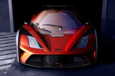 KTM X-Bow / Reiter Engineering GT4 race car preview rendering