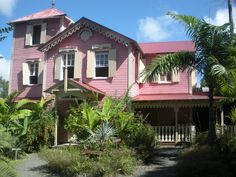 Michelle Elliot's Pink Plantation House up on the Mourne, Castries.  Best Caribean dishes with French flair!