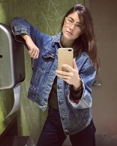 Anna Speckhart, Pro Tip, Military Jacket, Blues, Posts, Actors, Denim, Videos, Jeans
