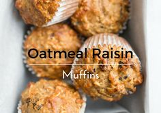 Oatmeal raisin cookies have been a go-to special treat for my kitchen helper. This flavor combination has been a favorite of his for years. Since we make oatmeal raisin cookies every once in a while, I thought I would transform his favorite treat into a muffin. I always love making muffin recipes since they are …