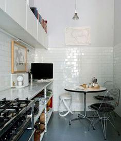 oggi vedremo cucine con piastrelle bianche un rivestimento che amo perch semplice e luminoso