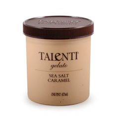this is the talenti salted caramel gelato i mentioned in another gelato post. it is amazingly good (if you like caramel, of course, and who doesnt?) if you see this at your local grocery store or whenever your shopping, just but it, just buy all of it. and give some to me. sharing is caring :3