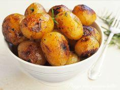 Peggyn pieni punainen keittiö: Sitruunaiset yrttiperunat