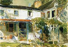 Back of the Old House