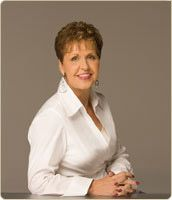 Joyce Meyers....whether ministering on the TV or in a book....got to love her spirit!