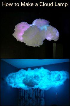 Diy Cloud Light, Cloud Night Light, Cloud Lights, Cloud Ceiling, Cloud Lamp, Cloud Bedroom, Led Diy, Aesthetic Room Decor, Room Ideas Bedroom