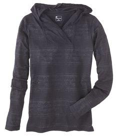 Heatwave Hoody, from Title 9.  Flyweight poly/cotton burnout.