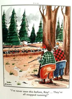 """The Far Side"" by Gary Larson.                                                                                                                                                                                 Mehr"