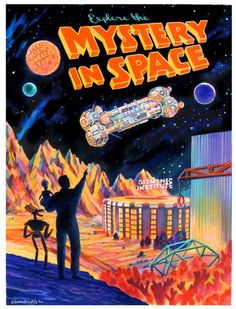 Explore the Mystery in Space   veronica fish