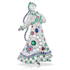 La Broche Lara à Kizhi   Winter Jewellery Collection   FABERGÉ.com