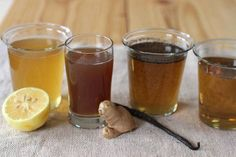 Lemon Ginger Syrup To Melt Fat Away - ORGANIC AND HEALTHY