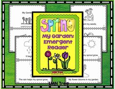Classroom Freebies: Spring Emergent Reader