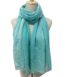 Mint Pink Ombre Scarf