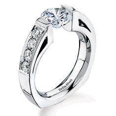 Designer Jewelry/tr 165 By Gelin Abaci 14kt White Gold Diamond Ring