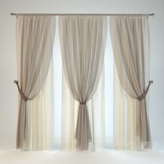 3d models: Curtain - Blind №11
