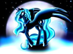 Princess Luna from MLP