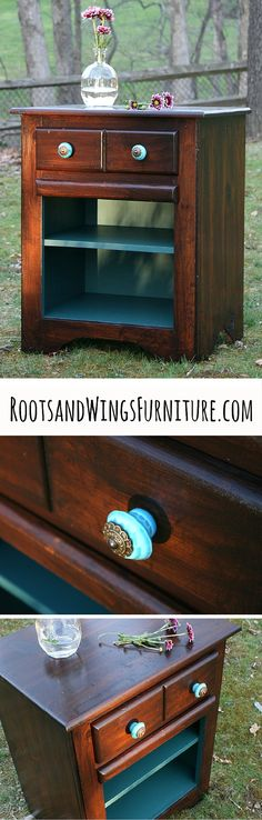 General Finishes Java Gel Stain Tutorial by Jenni of Roots and Wings Furniture.